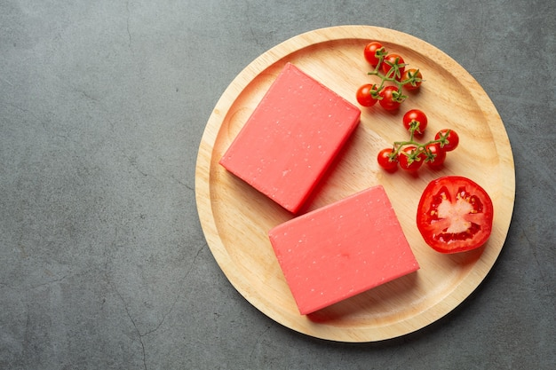 Mydło pomidorowe do pielęgnacji ciała