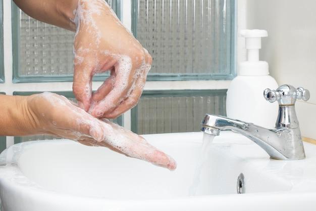 Myj mydło do dezynfekcji rąk chroń bakterie wirusowe przed zanieczyszczeniem