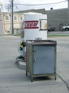 Myjnia samochodowa, zbiornik
