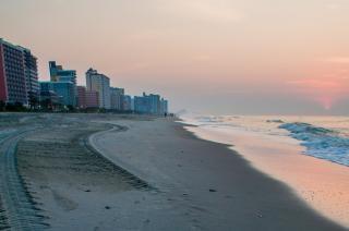 Myrtle beach south carolina idylliczny