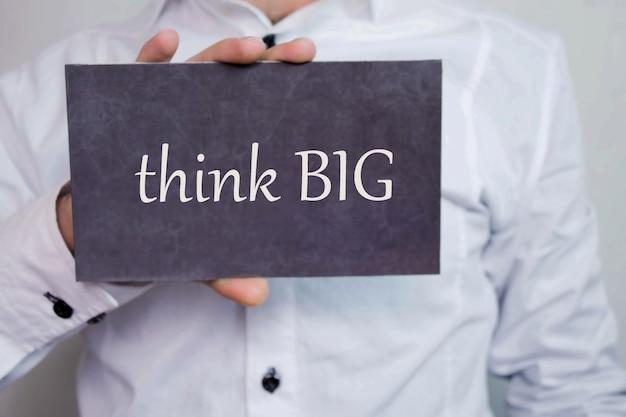 Myśl na wielką skalę