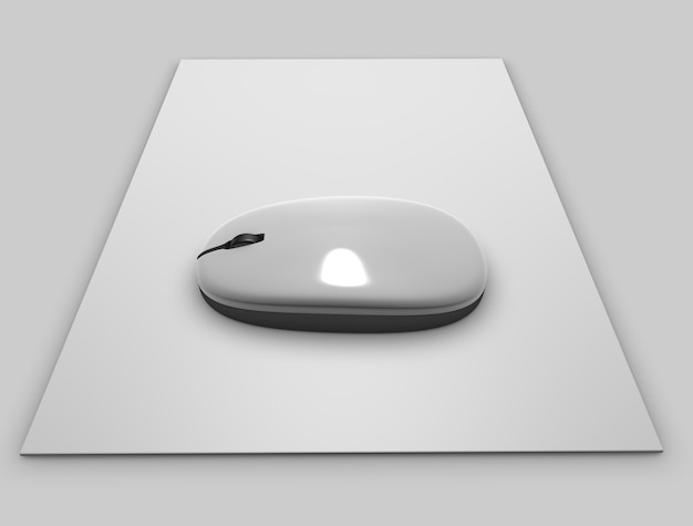 Mysz 3d nowy makieta
