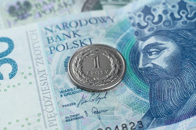 Na banknocie złoty polski