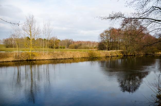 Na białorusi płynie rzeka świsłocz