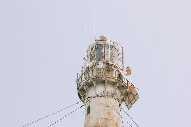 Na szczycie latarni morskiej