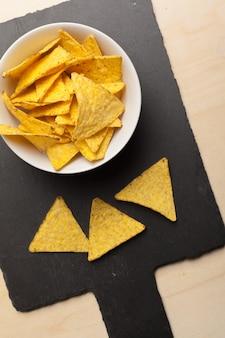 Nachos chips, pyszne przekąski słony tortilla