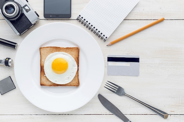 Nadal śniadaniowy perfekcjonista hipster