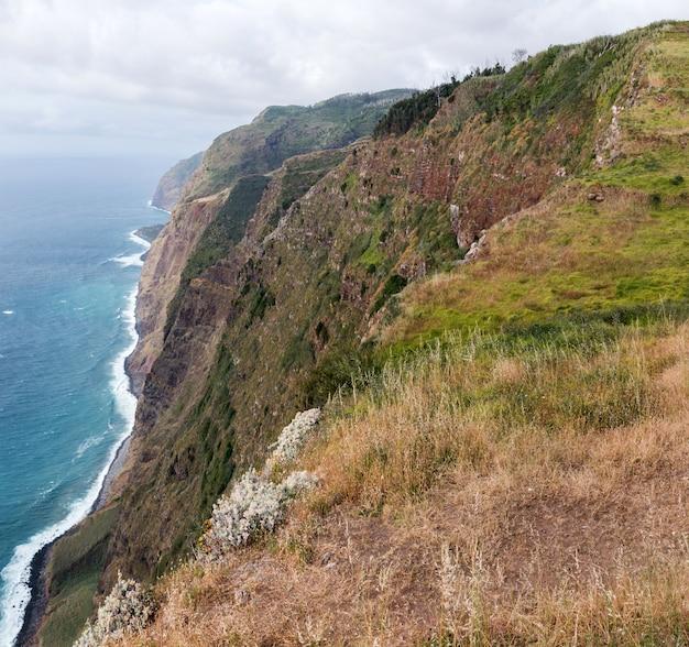 Nadmorski krajobraz na maderze