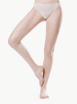 Nagie kobiece nogi
