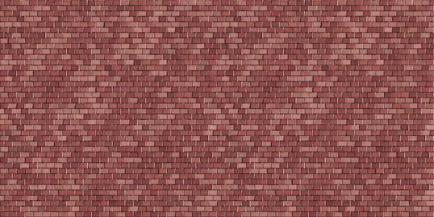 Nagłówek bond ściany z czerwonej cegły wzór tekstury tła