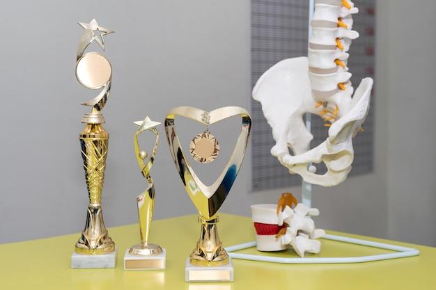 Nagrody i trofea w gabinecie lekarskim