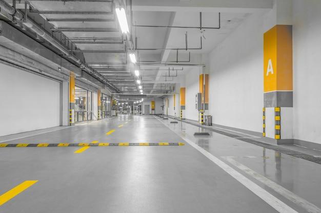 Napęd technologii lamp struktura garażu