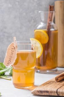 Napój fermentowany z cydru