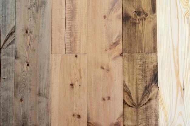 Naprawa i dekoracja. próbki przyjaznej dla środowiska powłoki na drewniane podłogi - wosk olejny w różnych kolorach