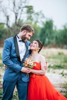 Narzeczeni mają romans i są szczęśliwi razem