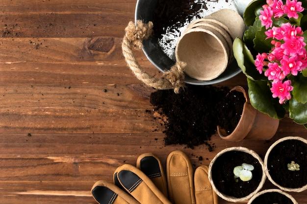 Narzędzia do kopiowania przestrzeni do ogrodnictwa