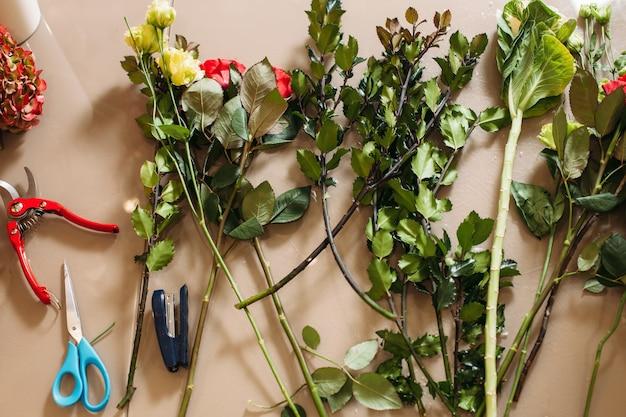 Narzędzia do tworzenia kwiaciarni