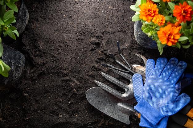 Narzędzia ogrodnicze do rozpoczęcia małej ogrodowej roślinki sprzęt rolniczy zestaw do dekoracji