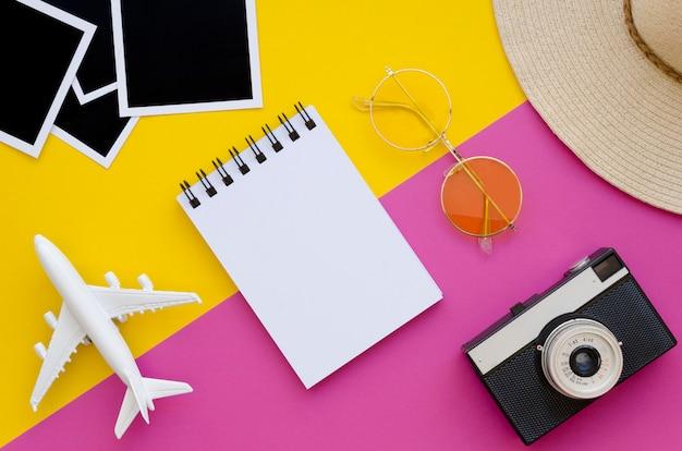 Narzędzia przygotowane do letnich podróży