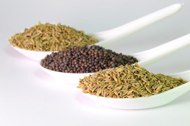 Nasiona gorczycy i kminku