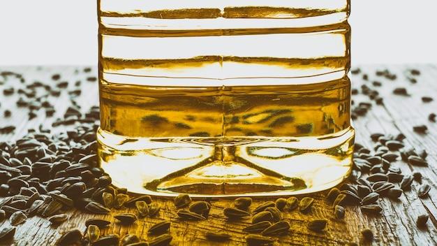 Nasiona i olej słonecznikowy