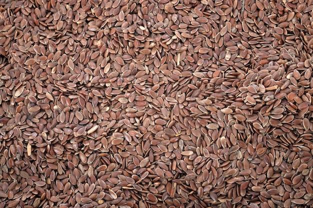Nasiona lnu tekstura tło