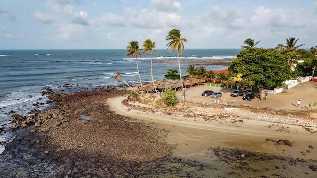 Natal, rio grande do norte, brazylia – 12 marca 2021: jenipabu