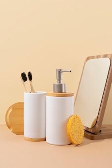 Naturalna aranżacja produktów do samoopieki