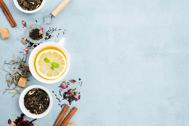 Naturalna herbata ziołowa z kopią