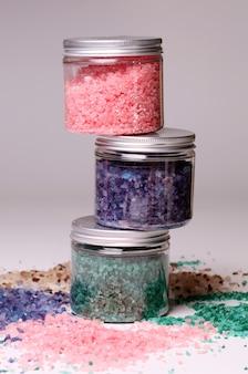 Naturalna sól do kąpieli w pudełkach