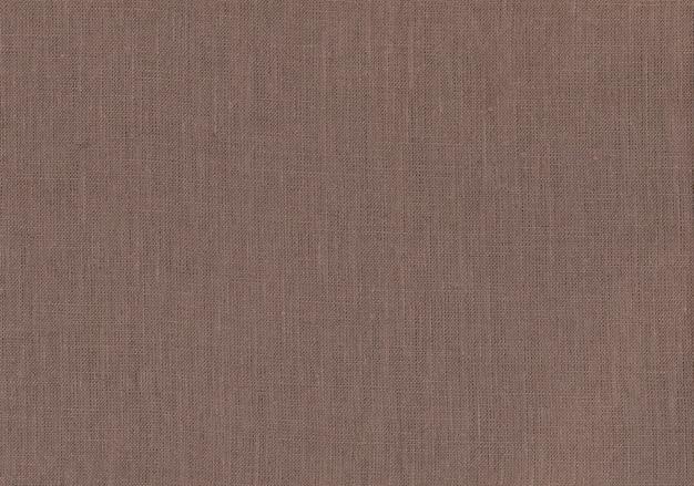 Naturalna tekstura brązowej tkaniny.