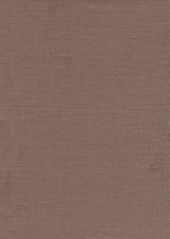 Naturalna tekstura brązowej tkaniny
