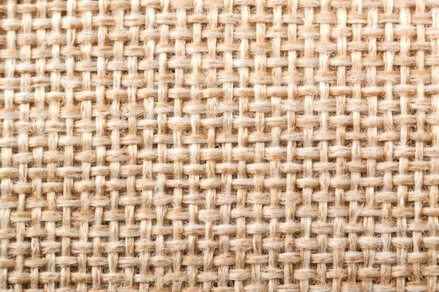 Naturalna tekstura płótna tkaniny
