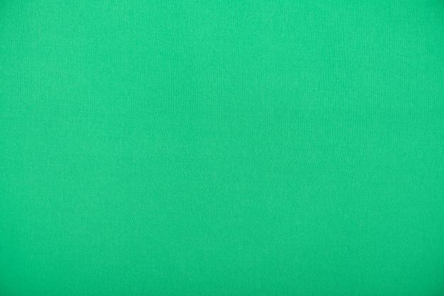 Naturalna zielona tkanina, gładka tkanina jako tekstura lub tło