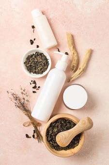 Naturalne ekologiczne kosmetyki z zieloną herbatą