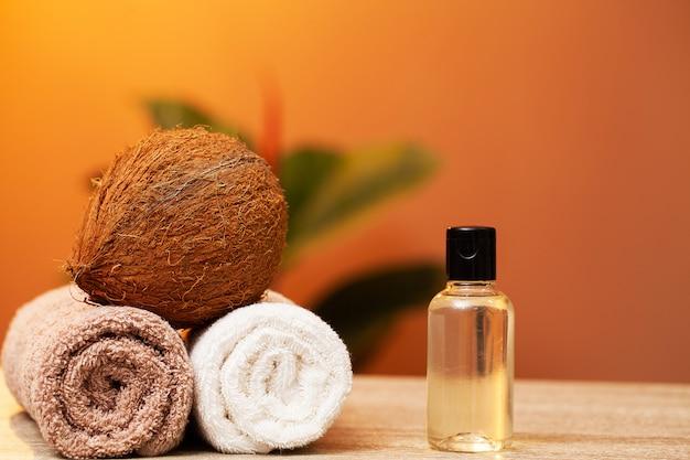 Naturalne kosmetyki na bazie oleju kokosowego do zabiegów spa