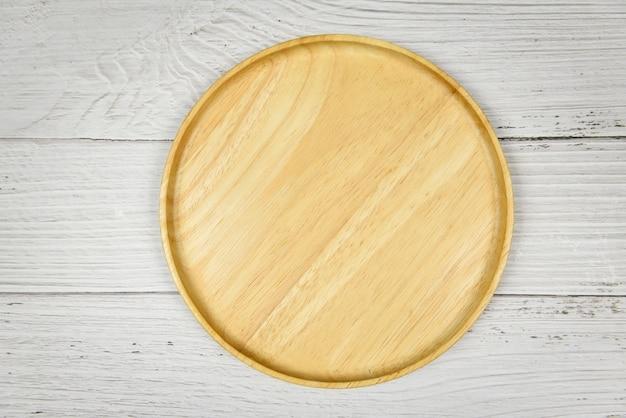 Naturalne narzędzia kuchenne produkty z drewna przybory kuchenne z drewnianym talerzem