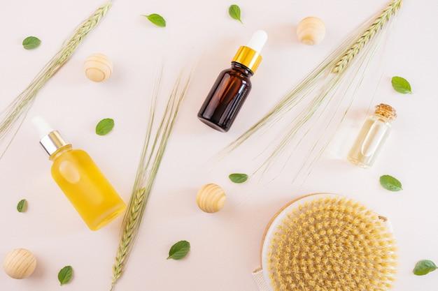 Naturalne olejki eteryczne i kłoski pszenicy