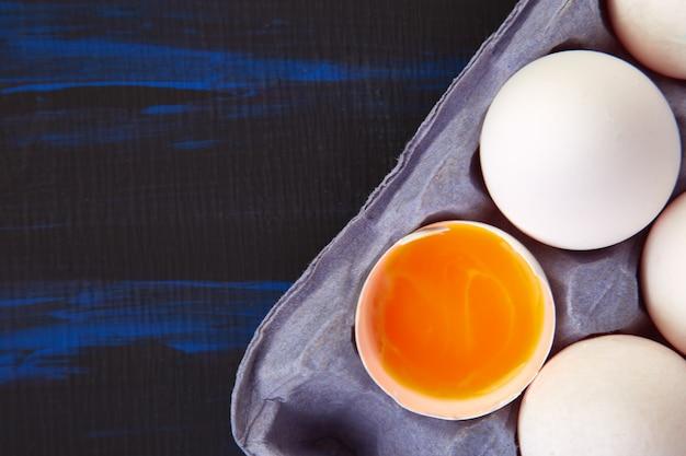 Naturalne organiczne jaja kurze
