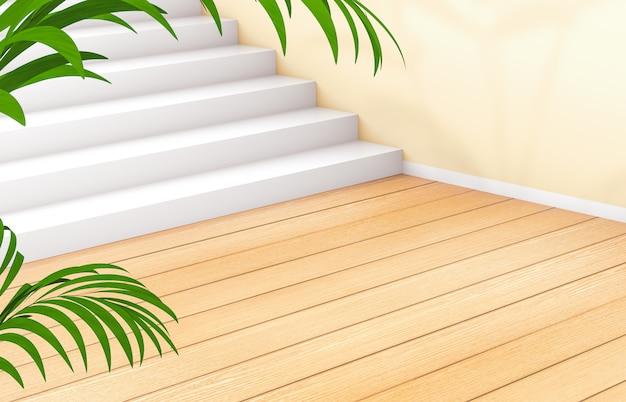 Naturalne piękno tła do wyświetlania produktów kosmetycznych. moda uroda z drewnianym tle.
