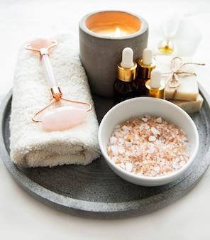 Naturalne produkty do pielęgnacji skóry i spa