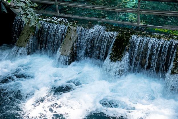 Naturalne studnie są atrakcją turystyczną