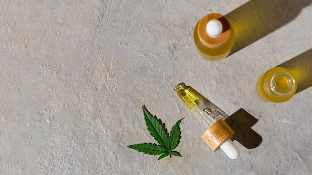 Naturalny asortyment zakraplaczy oleju cbd