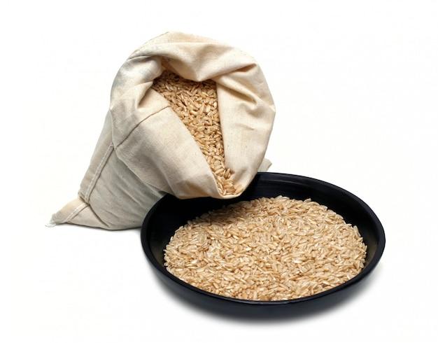 Naturalny brązowy ryż