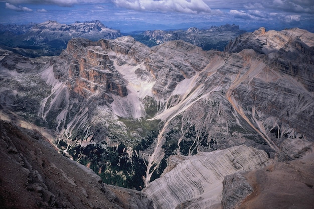 Naturalny krajobraz gór