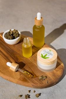 Naturalny skład zakraplacza oleju cbd