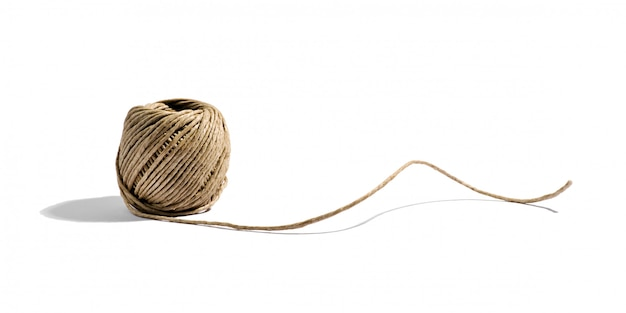 Naturalny sznurek domowy z konopi