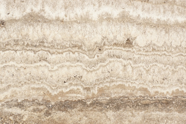 Naturalny trawertyn marmurowy nazywa się teksturą kamienia travertino classico, fakturą marmuru.