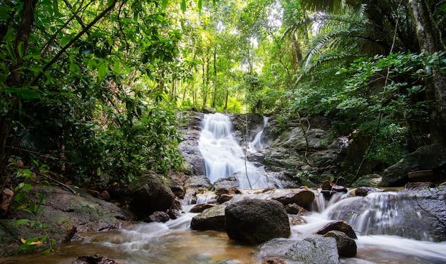 Naturalny wodospad