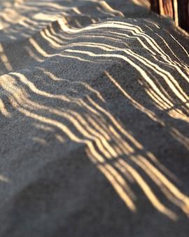 Naturalny zasób piasku plażowego